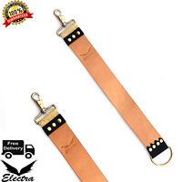 Durable Leather Strop Razor Sharpening Strap High Quality Belt for Shaving EA