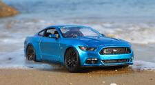 2015 Ford Mustang Maisto 31197 , Blau, 1:18 Die Cast by Maisto.