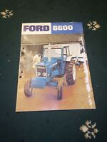 ford tractor 6600  sales brochure