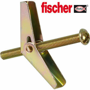 Fischer Spring Cavity Toggle Fixing | 5 x 80 | Pack of 20 | 42873