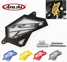 Front Sprocket Chain Left Side Engine Guard Cover Protector For YAMAHA R3 R25