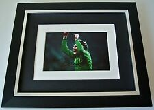 Ray Clemence SIGNED 10X8 FRAMED Photo Mount Autograph Display Liverpool & COA