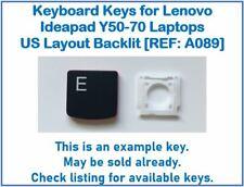 Keyboard Keys for Lenovo Ideapad Y50-70 Laptops US Layout Backlit [REF: A089]