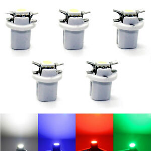 5x LED Opel Astra G SMD Tacho Lighting Tachobeleuchtung Cockpit Blue Red White