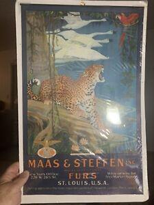 Original Mass Steffen Tiger Parrot Furs Poster Calendar Top