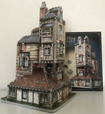 HARRY POTTER THE BURROW WEASLEY FAMILY HOME PUZZ 3D JIGSAW PUZZLE 415 Pc WREBBIT
