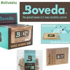 More details for boveda humidity 2 way control for cigars fresh tobacco packs 62% 58%