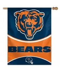 "New listing Chicago Bears Vertical 27 x 37"" Flag New"