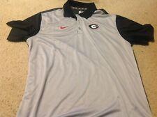 Georgia Bulldogs NIKE polo shirt size XL BRAND NEW men's MENS gray UGA DAWGS NWT