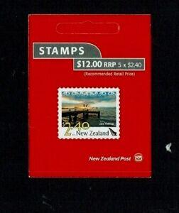 New Zealand: 2012,New Zealand Landscapes (Issue 4)  $2.40 booklet pane. SB158