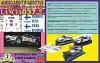 ANEXO DECAL 1/43 LANCIA 037 RALLY MARKKU ALEN 1000 LAKES 1983 (01)