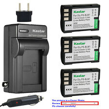 Kastar Battery Travel Charger for Olympus BLM-1 BLM-01 Camedia C-5060 Wide Zoom