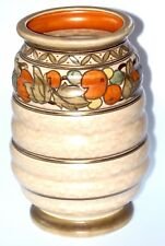 "ART NOUVEAU CHARLOTTE RHEAD VASE 12"" HIGH MADE ENG MINT COND WORK OF ART TUBULAR"
