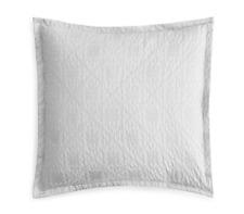 Sky Tile Matelasse EURO Pillow Sham - 2 Pack - Light Grey