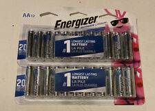 Energizer Ultimate Lithium AA Batteries - 24 count exp 2037 New Sealed