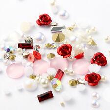 3d Rose Superior Alloy Jewelry Gems Nail Art Decoration Glitter Rhinestones 01