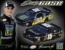 "2017 JOEY GASE ""SPARKS ENERGY DONATE LIFE"" NASCAR XFINITY / MONSTER CUP POSTCARD"