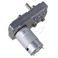 12V 16RPM No-load Speed High Torque Electric Square Gear box Geared Motor