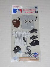 New in Package MLB Scrapbooking Sticker Set Chicago White Sox
