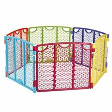 Versatile Play Space, Indoor & Outdoor Play Space, Portable, 18.5 Square Feet of