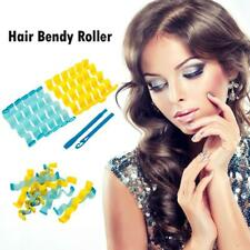 12pcs Soft Magic Hair Curler Bendy Roller Curl DIY Salon Hair Styling Tool