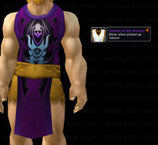 *** TABARD OF THE ARCANE - PURPLE *** WORLD OF WARCRAFT WOW LOOT TCG UDE