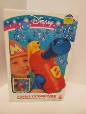 Disney Mickey Mouse Bubble Maker Blower Fire Extinguisher 1994 New Mattel