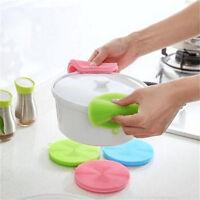 Multi función silicona plato fregador esponja cepillo cocina lavado limpieG2