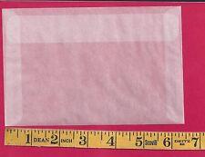 """50 NEW JBM #7 Glassine Envelopes 4-1/8"""" x  6-1/4"""""""