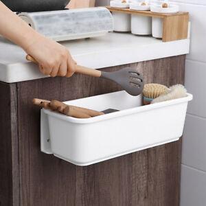 AU Kitchen Storage Rack Drawer Organizer Under Sink Bathroom Stand Wall-mounted