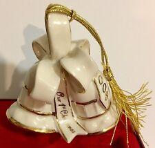 Lenox 2003 Our 1st Christmas Bells Ornament