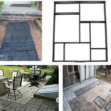 DIY Kopfsteinpflaster Pflastermacher Gießform Gehweg Form Gartenweg Rechteck NEU