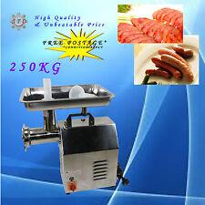 250kg/hr 900W NEW Commercial Electric Meat Mincer Grinder Sausage Filler Maker