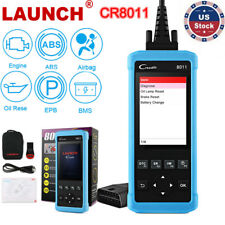 LAUNCH OBD2 Diagnostic Scanner Automative Code Reader ABS SRS EPB Oil BMS Reset