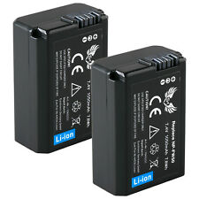 2x SK batería para Sony np-fw50 | 1065221 | Alpha 5000 6500 7 II 7s 7r II Nex 7 rx10