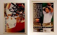 Heath Shuler Signed 1995 Score #229 Card Washington Redskins Auto Autograph