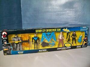 Batman Adventure Gotham City Enforcement Team Action Figure Set 2000