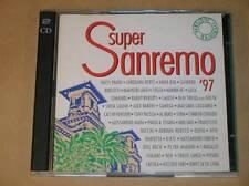 RARE BOITIER 2 CD / SUPER SAN REMO 97 / TRES BON ETAT