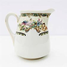 Vintage Japanese bone china pot à lait Kokura oiseaux