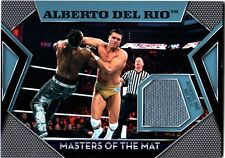 WWE Alberto Del Rio Topps 2011 Masters of the Mat Event Used Relic Card FD