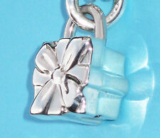 Tiffany & Co Sterling Silver 925 Bow Box Padlock Charm ONLY