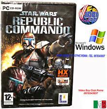 STAR WARS REPUBLIC COMMANDO PC CD ROM @@@ WINDOWS NUOVO