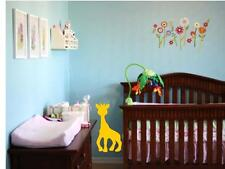 "BABY GIRAFFE Wall Decal Baby Kids Bedroom Nursery Girl Boy 24"""