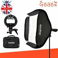 Godox 60*60cm 24*24inch Flash Folding Softbox with S-Type Bracket Bowens Mount