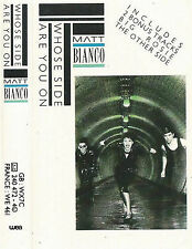Matt Bianco Whose Side Are You On CASSETTE Electronic Jazzdance inc extended