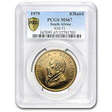 1979 South Africa 1 oz Gold Krugerrand MS-67 PCGS - SKU #114762