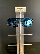 "Rudy Project Tralyx ""Blue Metal"" Multi L8 Ice w/white glasses"