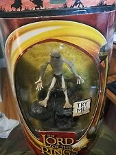 GOLLUM Lord Of The Rings 2003-The Two Towers-Action-Figure-Toy-Biz