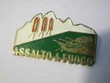 """PINS SPILLA ESERCITO ITALIANO ALPINI """" ASSALTO A FUOCO """" FUCILIERE  (GIO-1)"""