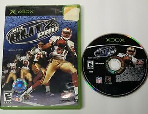 NFL Blitz Pro (Microsoft Xbox, 2003) No Manual Tested and Working
